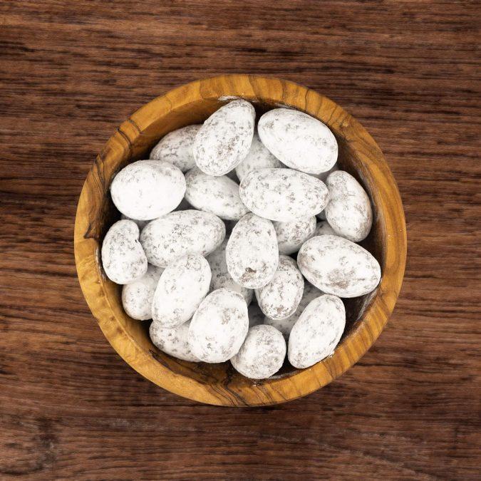 Choco amandelen sneeuw