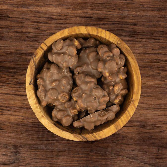 Choco cookies fudge rots melk