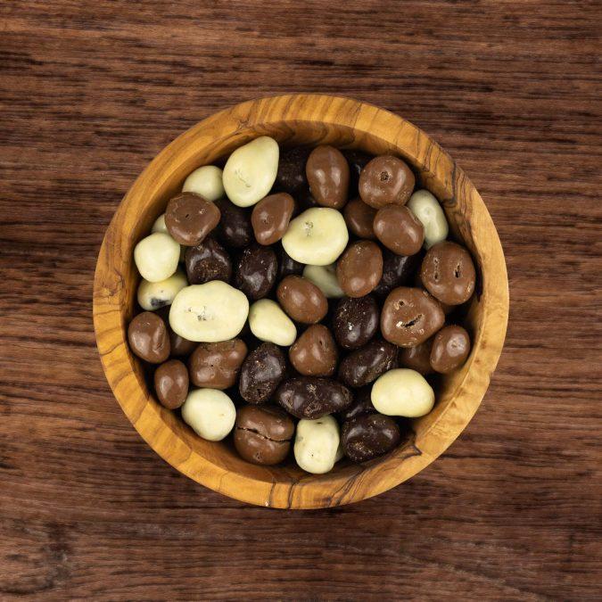Choco rozijnen gemengd