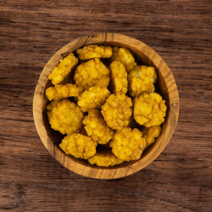 Curry rijstcrackers