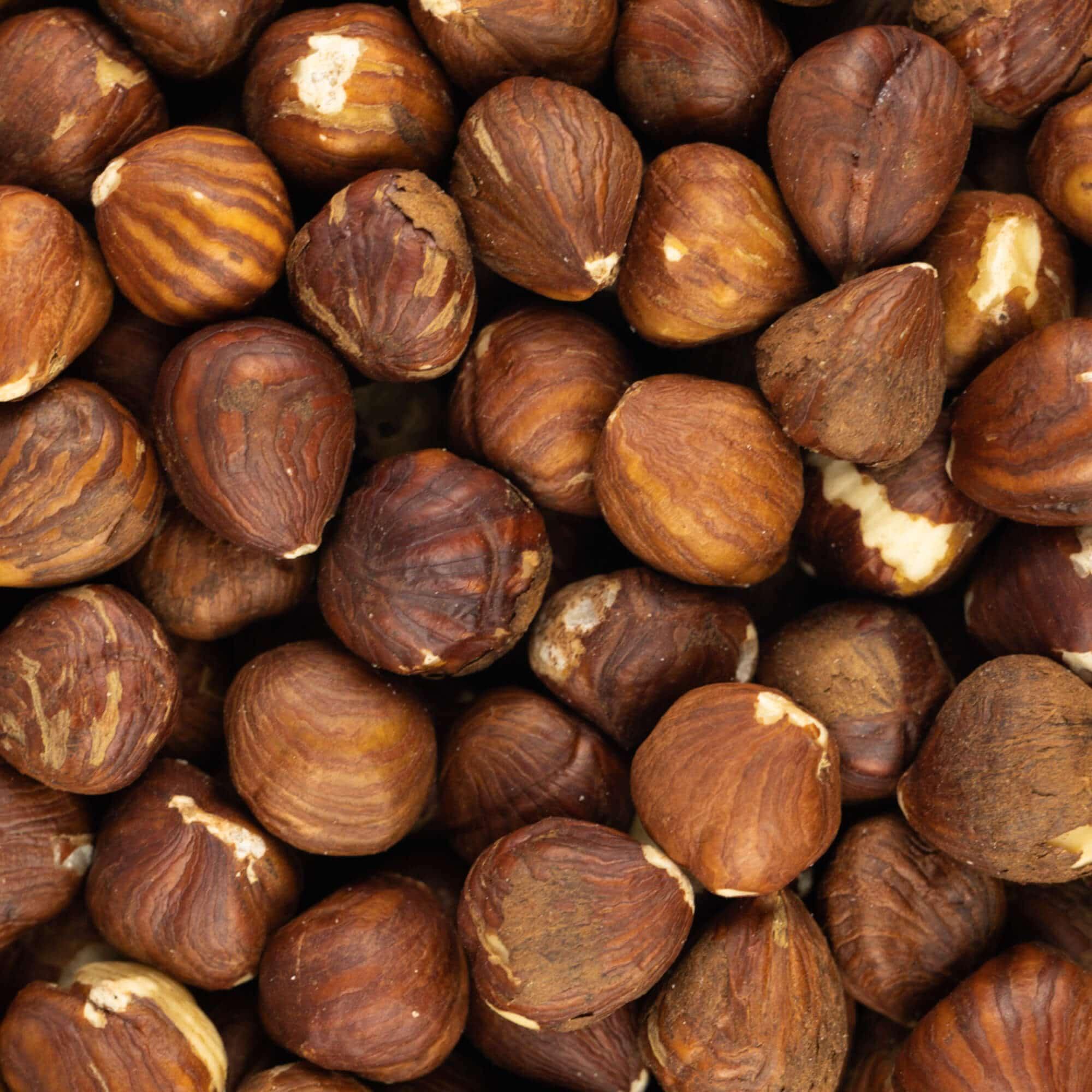 Hazelnoten bruin naturel zoom