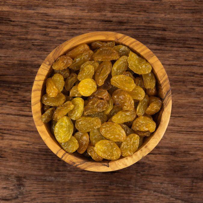 Rozijnen groot geel