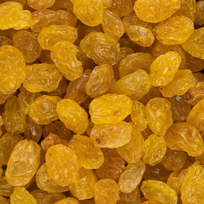 Rozijnen klein geel