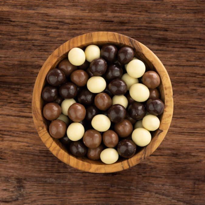 Choco rijstbollen gemengd